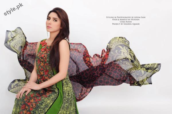 Stylish Lawn Dresses 2012 for Women of Pakistan 8 designer dresses