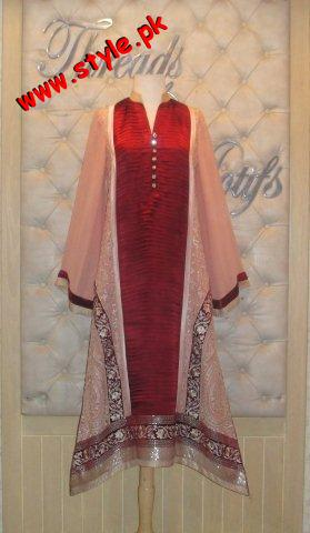 Threads And Motifz Latest Summer Collection 2012 002 pakistani dresses