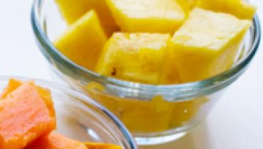 Homemade Papaya and Pineapple Facial _001