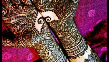 Latest Bridal Mehndi Designs 2012 _01