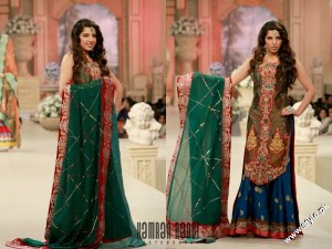 Amir Baig Bridal Collection At Bridal Collection Week 2012 3 300x225 bridal couture week fashion shows