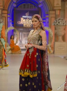 Amir Baig Bridal Collection At Bridal Collection Week 2012 4 219x300 bridal couture week fashion shows