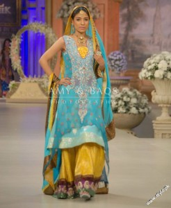 Amir Baig Bridal Collection At Bridal Collection Week 2012 81 246x300 bridal couture week fashion shows
