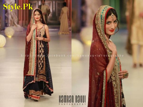 Asifa And Nabeel At Pantene Bridal Couture Week 2012-001