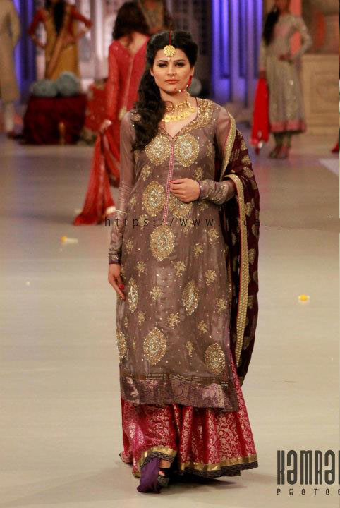 latest bridal wear penten couture week collection pantene