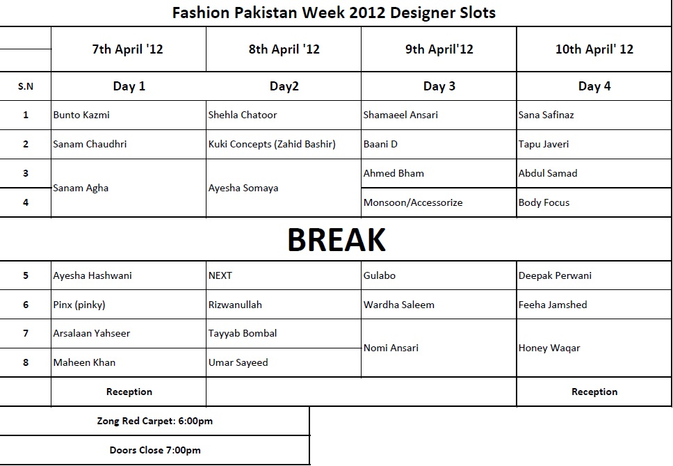 Fashion Designers In Fashion Pakistan Week 2012 006 fashion shows designer dresses