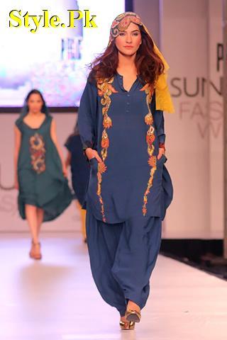 FnkAsia Latest Summer Funky Dresses For Women 2012-008