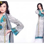 Latest Casual Wear Lawn Dresses For Summer by Warda Designer Collection 2012-011