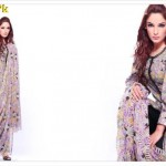 Latest Casual Wear Lawn Dresses For Summer by Warda Designer Collection 2012-012