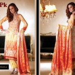 Latest Lawn Collection For Summer by Firdous CLoth Mills 2012-012