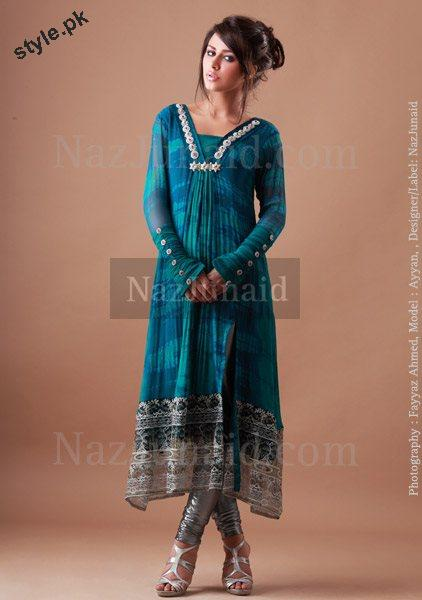 Latest Party Wear Dresses 2012 For Women by NazJunaid 1 local designer clothes for women