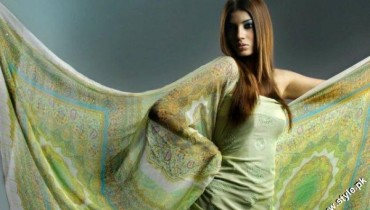 Resham Ghar Digital Embroidered Suits For Summer 2012 1