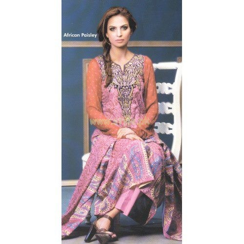 Subhata Embroidered Lawn dresses 2012 by Shariq Textiles 005