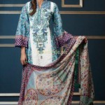 Subhata Embroidered Lawn dresses 2012 by Shariq Textiles (15)