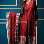 Subhata Embroidered Lawn dresses 2012 by Shariq Textiles (2)