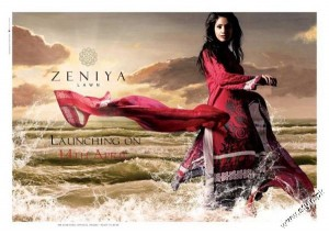 Zeniya Summer Collection Lawn Prints 2012 1 300x213 for women local brands