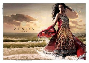Zeniya Summer Collection Lawn Prints 2012 2 300x213 for women local brands