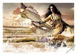 Zeniya Summer Collection Lawn Prints 2012 4 300x213 for women local brands