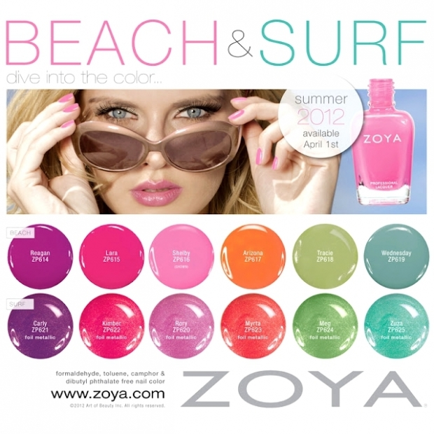 Zoya Beach & Surf Summer 2012 Nail Polish Collection _01