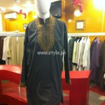 Ahmed Zubair Latest Kurta Shalwar Designs For Men 2012 001