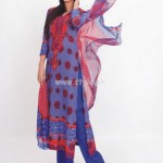 Aroshi Summer 2012 Embroidered Swiss Voile Collection 005