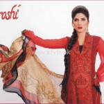 Aroshi Summer 2012 Embroidered Swiss Voile Collection 010