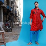 Arsalan And Yahseer Summer 2012 Rangeen Kurta Collection 008