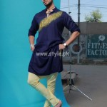 Arsalan And Yahseer Summer 2012 Rangeen Kurta Collection 009