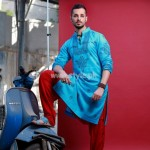 Arsalan And Yahseer Summer 2012 Rangeen Kurta Collection 010