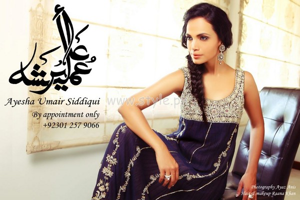 Ayesha Umair Siddique Latest Wedding Dresses 2012 003 wedding wear for women local brands