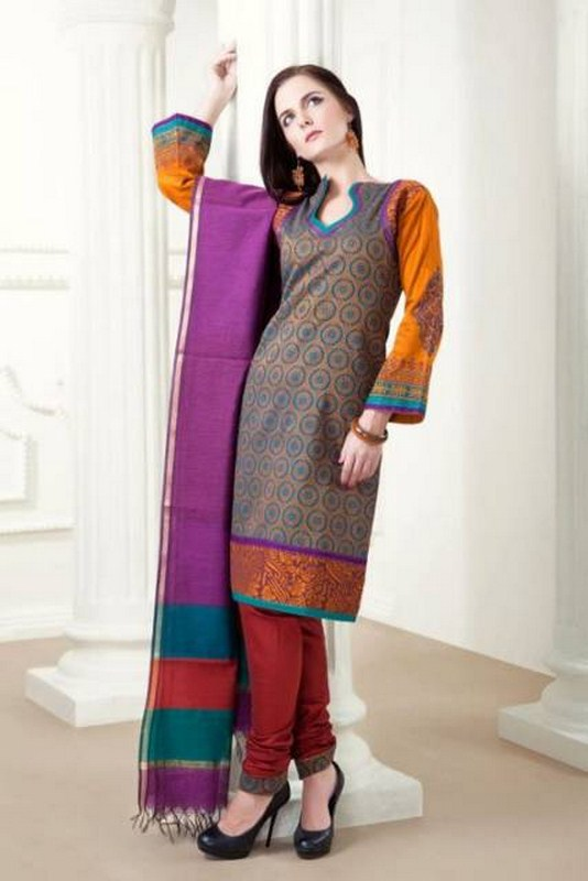 Casual Shalwar Kameez Summer Collection 2012 By Natasha