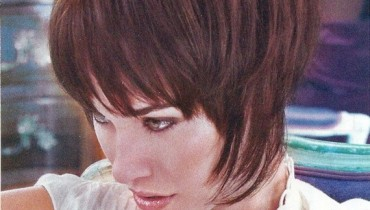 Cool And Stylish Wedge Cut Hairstyles 2012 for Women 01