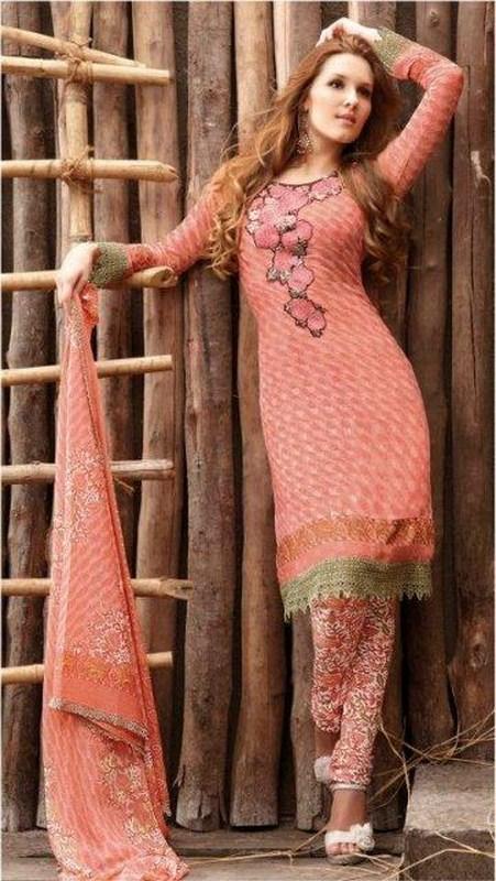 cool chic spun cotton salwar kameez summer collection 2012