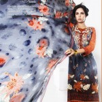 Eiza by UA Textiles Summer Zardozi Prints 2012 001
