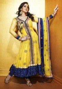 Gorgeous and Exclusive Indian Fashion Frocks and Kameez Designs 2012 001 210x300 stylish dresses