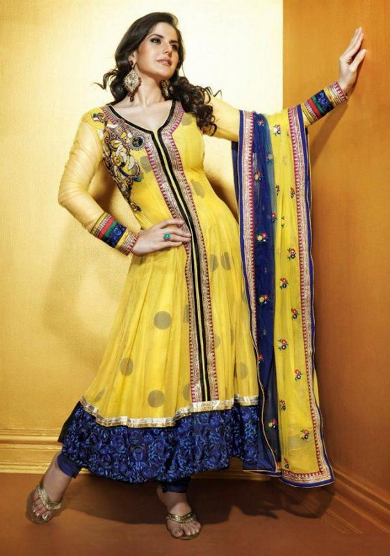 gorgeous and exclusive indian fashion frocks and kameez