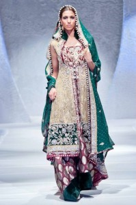 Latest And Exclusive Bridal Collection 2012 By Zainab Sajid in FPW 003 199x300 shows international fashion brands