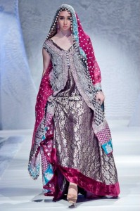 Latest And Exclusive Bridal Collection 2012 By Zainab Sajid in FPW 006 199x300 shows international fashion brands