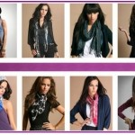 Latest And Trendy Scarf Designs For Girls 2012