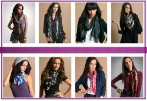 Latest And Trendy Scarf Designs For Girls 2012 001 300x207 hijab scarves accessories