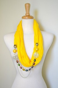 Latest And Trendy Scarf Designs For Girls 2012 002 199x300 hijab scarves accessories