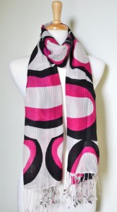 Latest And Trendy Scarf Designs For Girls 2012 003 166x300