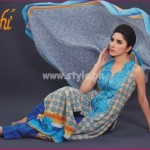 Latest Aroshi Lawn COllection For Summer 2012 011