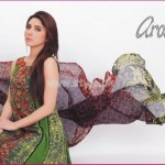 Latest Aroshi Lawn COllection For Summer 2012 012