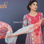 Latest Aroshi Lawn COllection For Summer 2012 013