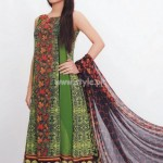 Latest Aroshi Lawn COllection For Summer 2012 015