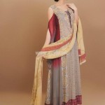 Latest Aroshi Lawn COllection For Summer 2012 016