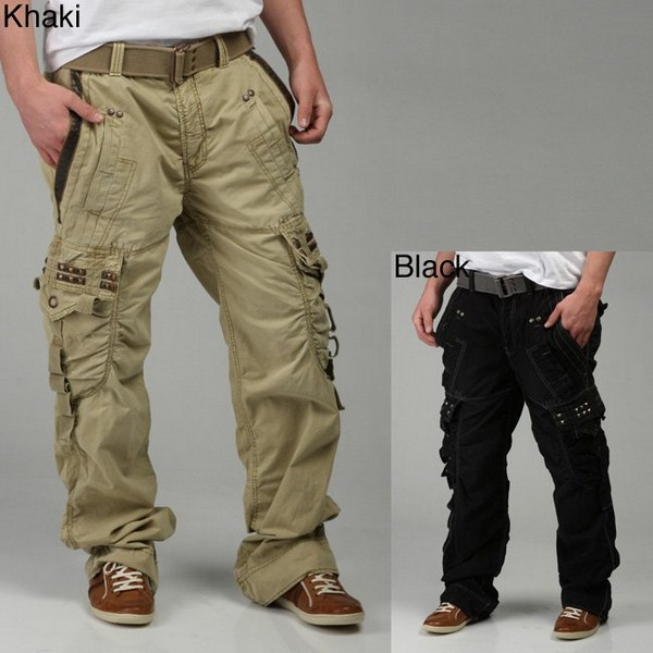 men in cargo pants - Pi Pants