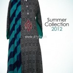 Mahin Erum Latest Casual Wear Lawn Dreses For Sumemr 2012 001