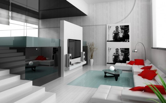 Modern And Stylish Interior Designs For The Living Rooms 01 stylish interior designing furnitures